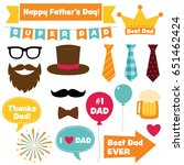 father s day vector design... | Shutterstock .eps vector #651462424
