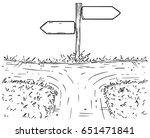vector cartoon doodle hand... | Shutterstock .eps vector #651471841