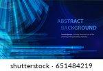 technology abstract blue... | Shutterstock .eps vector #651484219