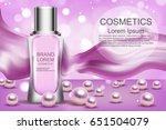 cream. realistic. cosmetics.... | Shutterstock .eps vector #651504079