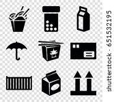 pack icons set. set of 9 pack... | Shutterstock .eps vector #651532195
