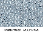 light blue vector abstract... | Shutterstock .eps vector #651540565