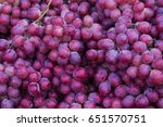 Red Wine Grapes Background ...