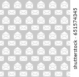 seamless pattern with mail... | Shutterstock .eps vector #651574345