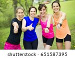 a group of people enjoying in... | Shutterstock . vector #651587395