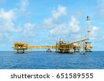 gulf of thailand  april 11 ... | Shutterstock . vector #651589555
