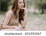 beautiful women fashion show... | Shutterstock . vector #651592567