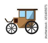 carriage wagon icon image  | Shutterstock .eps vector #651605071