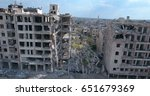 The City Of Aleppo In Syria