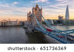 Tower Bridge In London  The Uk...