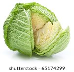 Photo Of Fresh Cabbage On A...