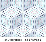 seamless pattern from colored... | Shutterstock .eps vector #651769861