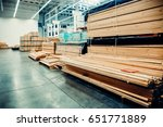 Sawn Wood. Shelf With...