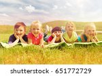 summer  childhood  leisure and... | Shutterstock . vector #651772729