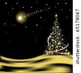 2010,fondo,navidad,diciembre,desierto,dina,por la noche,fuegos artificiales,regalo,resplandor,oro,feliz,vacaciones,ilustración,luz