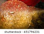 thailand religion ball symbol... | Shutterstock . vector #651796231