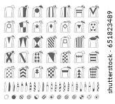 jockey uniform. traditional... | Shutterstock .eps vector #651823489