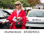 paris september 29  2016.... | Shutterstock . vector #651824311