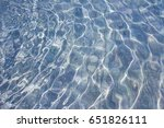 ripple water in swimming pool... | Shutterstock . vector #651826111