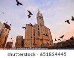 mecca  saudi arabia  jan 8 ... | Shutterstock . vector #651834445