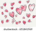 illustration of hand drawn... | Shutterstock . vector #651841969
