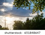 cloud | Shutterstock . vector #651848647