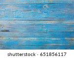 Old Wood Blue Color Background