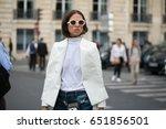 paris september 29  2016.... | Shutterstock . vector #651856501