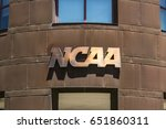 Small photo of Indianapolis - Circa June 2017: National Collegiate Athletic Association Headquarters. The NCAA regulates athletic programs of many colleges and universities VIII