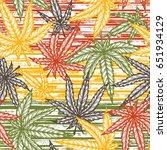 vector medicinal plants.... | Shutterstock .eps vector #651934129
