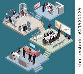 illustration of a set of 3d...   Shutterstock . vector #651935539