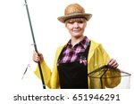 spinning  angling  cheerful... | Shutterstock . vector #651946291