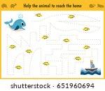 maze game. educational children ... | Shutterstock . vector #651960694