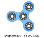 fidget spinner stress relieving ... | Shutterstock . vector #651973231