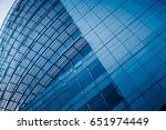 modern architecture tone in... | Shutterstock . vector #651974449