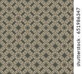 vintage pattern graphic design | Shutterstock .eps vector #651986347