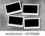 designer concept   blank photo... | Shutterstock . vector #65198680