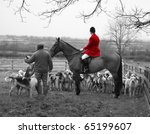 England Hunt Scene With Horse...