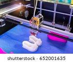 3d printer three dimensional...   Shutterstock . vector #652001635