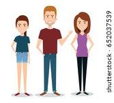 standing people design   Shutterstock .eps vector #652037539