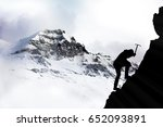 Small photo of Climb to the summit