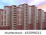 multi storey residential... | Shutterstock . vector #652098211
