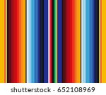 mexican blanket stripes... | Shutterstock .eps vector #652108969