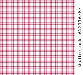 red white windowpane twill...   Shutterstock .eps vector #652116787