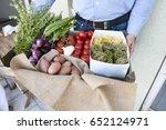 potatoes  peppers  onions ... | Shutterstock . vector #652124971