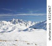 alps mountains  savoie  france