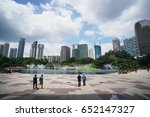 the view of city | Shutterstock . vector #652147327
