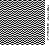 black zigzag lines. jagged... | Shutterstock .eps vector #652161829