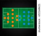 football  soccer  preview on... | Shutterstock .eps vector #652168621