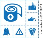 accident icon. set of 6...   Shutterstock .eps vector #652170211